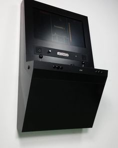 "Polycade Black on black on black #arcade #arcademachine #retrogaming #atari #polycade"""