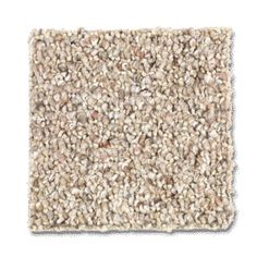 Highland Vista style carpet in Natural Grain color, available wide, constructed with Mohawk PermaStrand carpet fiber.