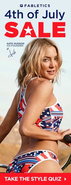 4th of JULY SALE EXCLUSIVE VIP OFFER - GET YOUR FIRST OUTFIT FOR $15! Limited Time Only, Offer ends 7/05/2016. Discover Fabletics by Kate Hudson Workout Outfits for 2016 that are Curated for Your Lifestyle by taking our Lifestyle Quiz to take advantage of this offer!