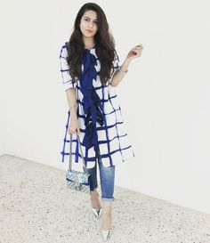 560 Likes, 23 Comments - K a Stylish Dresses, Casual Dresses, Fashion Dresses, Kurta Designs, Blouse Designs, Indian Dresses, Indian Outfits, Western Outfits, Insta Look