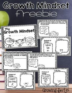 Growth Mindset Interactive Mini-Book {Freebie} Looking to help build a growth mindset in your students? This interactive mini-book freebie will help you out!It is a non-editable PDF.Check out my store! I love creating products Growth Mindset Classroom, Growth Mindset Activities, Growth Mindset Lessons, Growth Mindset For Kids, Habits Of Mind, 7 Habits, Social Emotional Learning, Social Skills, Visible Learning