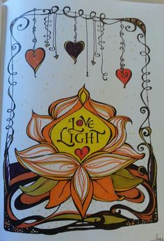 Thank You Lord For Your Love Light Wendy Leech Markers Koi By