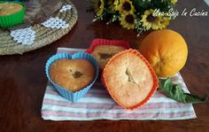 Tortine all'arancia con confettura di mele