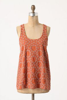 anthropologie daphne crown tank