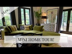 Sofa, Couch, House Tours, Youtubers, Living Room, Furniture, Home Decor, Settee, Settee