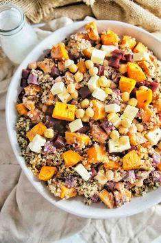 Sweet Potato Quinoa Salad 6 | Sweet Caramel Sunday
