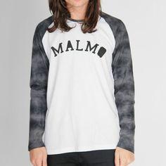 Malmo London - Baseball Tee - Black