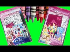 It's time to have some fun with these super cute coloring fun sets for kids! We have a Disney Frozen color pack and a Disney Princess color pack with crayons. Youtube Videos For Kids, Kids Videos, Wish Kids, Cool Kids, Frozen Videos, Princess Videos, Care Bear Birthday, Disney Princess Colors, Princess Coloring