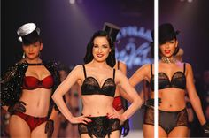 GlamJam.co - The Fashion Atlas - Von Follies: the Lingerie Collection of the Burlesque Star
