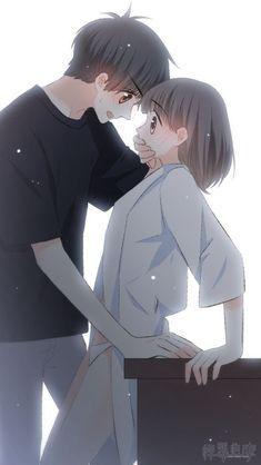 Love Never Fails Manga Anime Cupples, Anime Kiss, Anime Chibi, Kawaii Anime, Manga Couple, Anime Love Couple, Couple Cartoon, Anime Couples Drawings, Anime Couples Manga