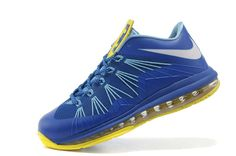 Air Max LEBRON X Low Blue yellow!$65.00USD