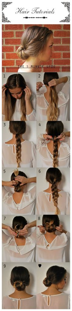 Boring and limp or bushy and out of control. Though the ponytail is a go-to solution for a bad hair day and a morning short on time, simply wrapping a hair-tie around that mess usually does little to mask the hairy situation you're dealing with. Simply as it looks, first curl your hair, divide it in two ponytails, and you will get this amazing look#Hairstyle#