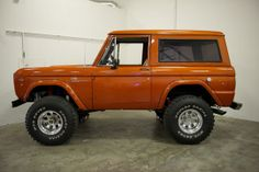 1969 Ford Bronco, Mountain Series Edition