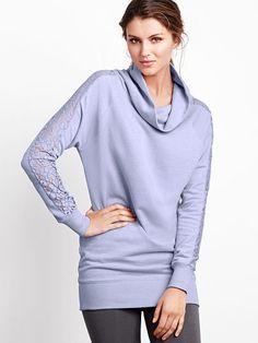 Victoria's Secret Lace Cowlneck Tunic on shopstyle.com.au