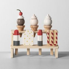 These wooden toys from Joanna Gaines' Target collection are 😍 These wooden toys from Joanna Gaines' Target collection are 😍,Unique Gift Ideas Joanna Gaines Hearth and Hand Natural Toys Games for Kids – Motherly. Ice Cream Toy Set, Kids Market, Wooden Display Stand, Supermarket, Chip And Joanna Gaines, Natural Toys, Holidays With Kids, Wood Toys, Wooden Toys For Kids