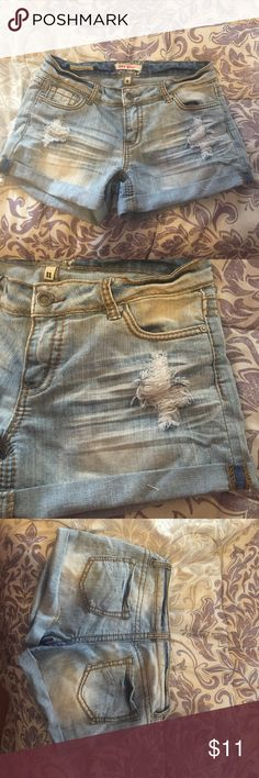 cd9d19e0dda4 Faded jean shorts! They are very comfy