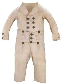 boys regency dress - that's a lot of buttons!