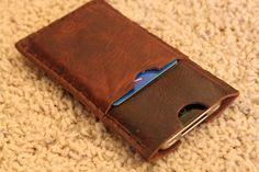 Handcrafted in USA: Leather iPhone 5 5s or von 3TwentyLeatherworks