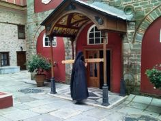 The Holy Mountain, Porch Roof, Christian Church, Cathedrals, Temples, Catholic, Prayer, Greece, Icons