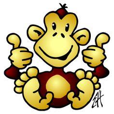 Monkey fc T-Shirt design. #illustration #customprint #POD #CardvibesCatalog #Cardvibes #Tshirts
