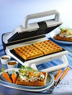 Commercial Belgian Waffle Maker for making delicious waffle at home!