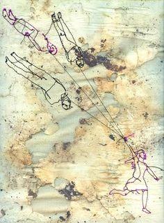 Marloes Dukyer - textile art