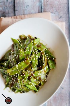 easy stir fried snap peas 4 servings as side easy stir fried snap