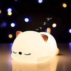 Cat Lover Gifts, Cat Gifts, Cat Lovers, Cute Room Decor, Baby Room Decor, Mochila Pokemon, Animal Lamp, Cute Night Lights, Gold Bedroom Decor