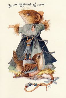 Marjolein Bastin, Vera the mouse, I have always loved her.