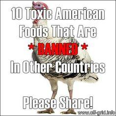 10 toxic foods