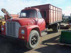 Red International 1700 Loadstar truck