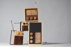 Cute retro radios.