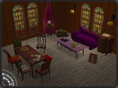 Around the Sims 2 | Objects | Living-room | Mystic