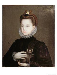 Infanta Isabella Clara Eugenia, Daughter of Philip II of Spain Giclee Print