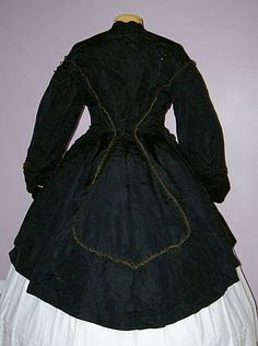 Paletot: A man's fitted overcoat or a woman's fitted jacket worn esp. in the 19th century over a costume with crinoline or bustle