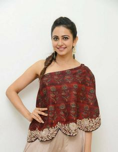 Rakul Preet Singh Latest Hot Cleveage OneSide Spicy Tops PhotoShoot Images ★ Desipixer  ★