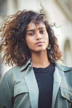 Imaan Hammam by Jean Baptiste Soulliat Isabel Marant - Paris Fashion Week PAP SS16