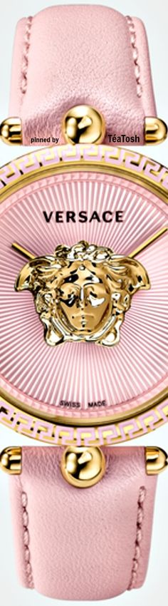 ❇Téa Tosh❇ VERSACE Pink Love, Pink And Gold, Pretty In Pink, House Of Versace, I Believe In Pink, Pink Bling, Everything Pink, Pink Eyes, Gold Fashion