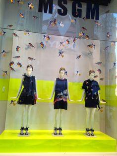 La Rinascente during Fashion Week ! Spring 2015 collection - Milan fashion windows