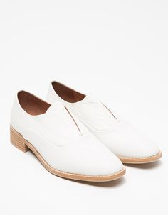 #JeffreyCampbell - Niven In White Leather
