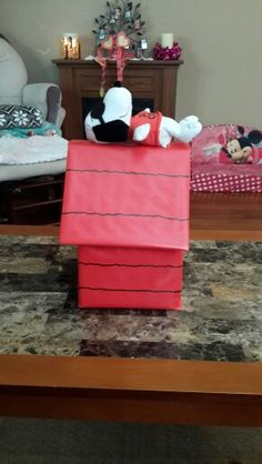 Snoopy Valentines Box Holiday Ideas Pinterest