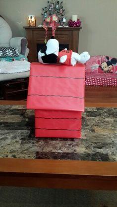 Snoopy Valentines Box Holiday Ideas Pinterest