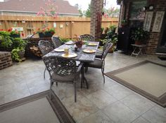 Pictures Of Patio Floors | Photo Gallery Of The Outdoor Patio Flooring Patio  Tiles, Patio