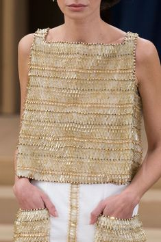 Chanel at Couture Spring 2016 (Details)