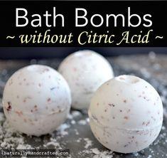 DIY Bath Bombs without Citric Acid, Easy Recipe Bombe de bain bricolage sans acide citrique, recette facile Organic Bath Bombs, Natural Bath Bombs, Bath Boms Diy, Bath Bomb Packaging, Oatmeal Bath, Cupcake Bath Bombs, Homemade Bath Bombs, Nails Polish, Bath Bomb Recipes