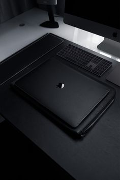 With the Blvck MacBook Skin, your device will never look the same. Made from premium materials and finished in our Signature Matte Black finish, the Blvck MacBook Skin is the perfect way to & out& your MacBook and live the complete Blvck lifestyle. Black And White Aesthetic, Black Love, All Black, Black Apple, Macbook Skin, Telephone Smartphone, Office Setup, Desk Setup, Black Wallpaper
