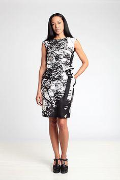 - Marimekko Uman 5 dress   i like things with trees on them