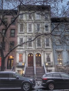 A Nineteenth Century Urban Italianate Townhouse, with Federal influences, in Chelsea, New York City