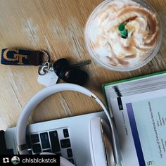 Tile- the best way to start your morning. #Repost @chlsblckstck  With this Salted Caramel Mocha Frappuccino loads of homework and college football Fall (and my diet) has officially started.  #tiledit  www.thetileapp.com