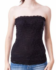 Ladies Black Floral Lacey Tube Top FineBrandShop,http://www.amazon.com/dp/B0074QI30M/ref=cm_sw_r_pi_dp_Lqnrtb01Q6CR5N48